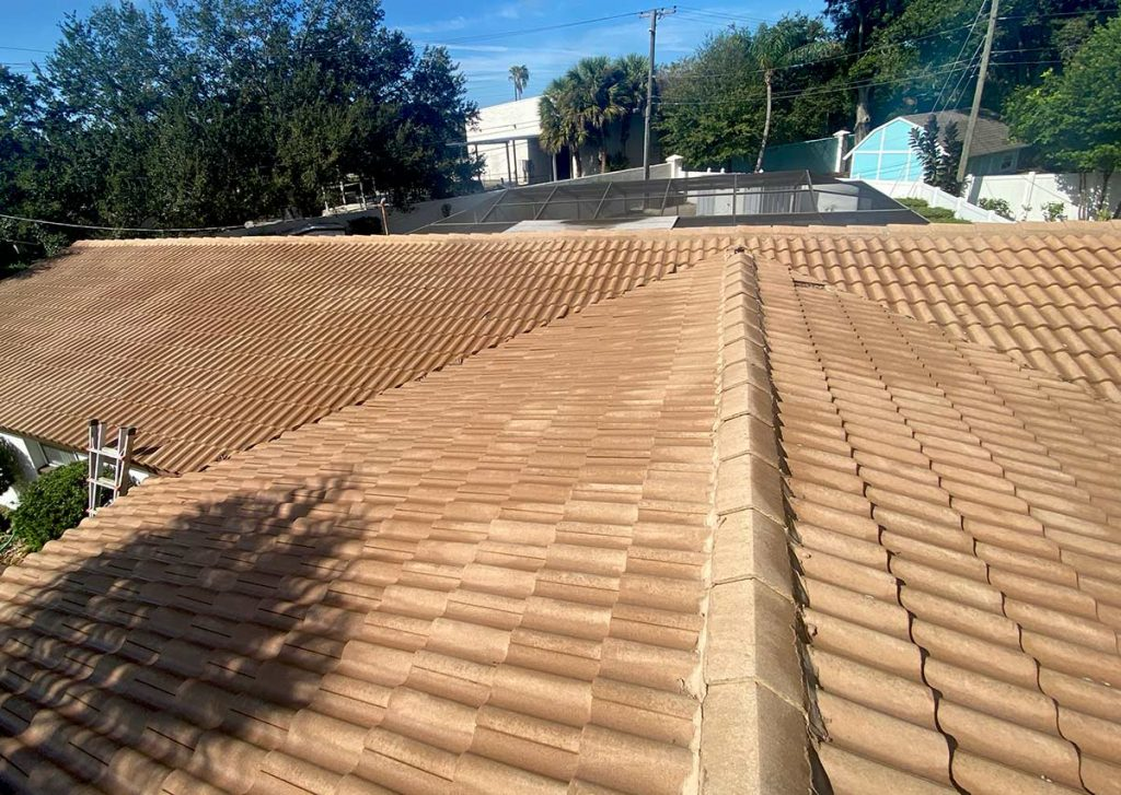 After Roof Cleaning Job By Hang Loose