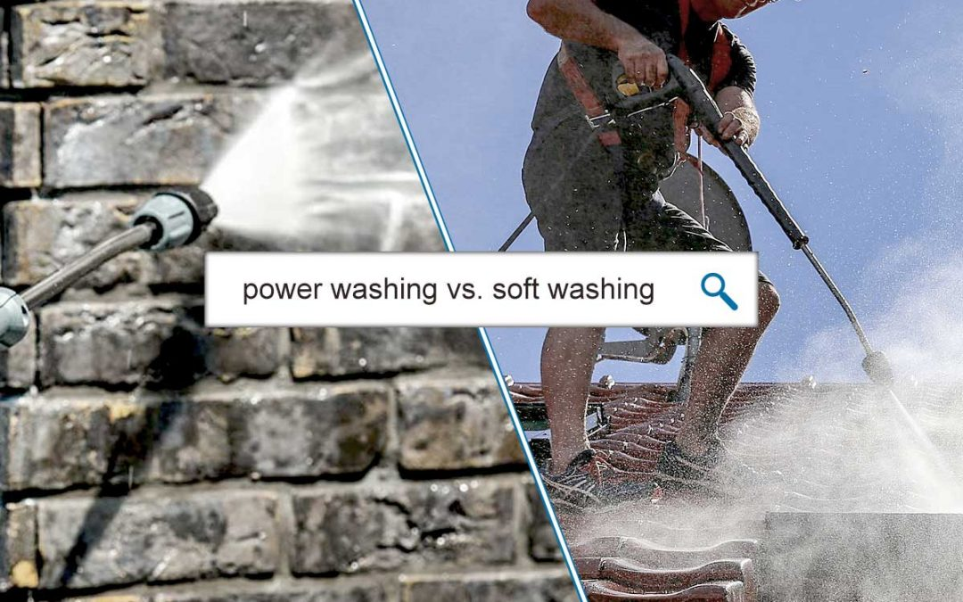 Pressure Cleaning VS Soft Washing, What's The Difference?