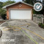 Before Hang Loose Driveway Pressure Cleaning
