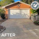 After Hang Loose Driveway Pressure Cleaning